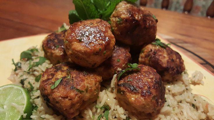 Chicken and Pecorino Meatballs