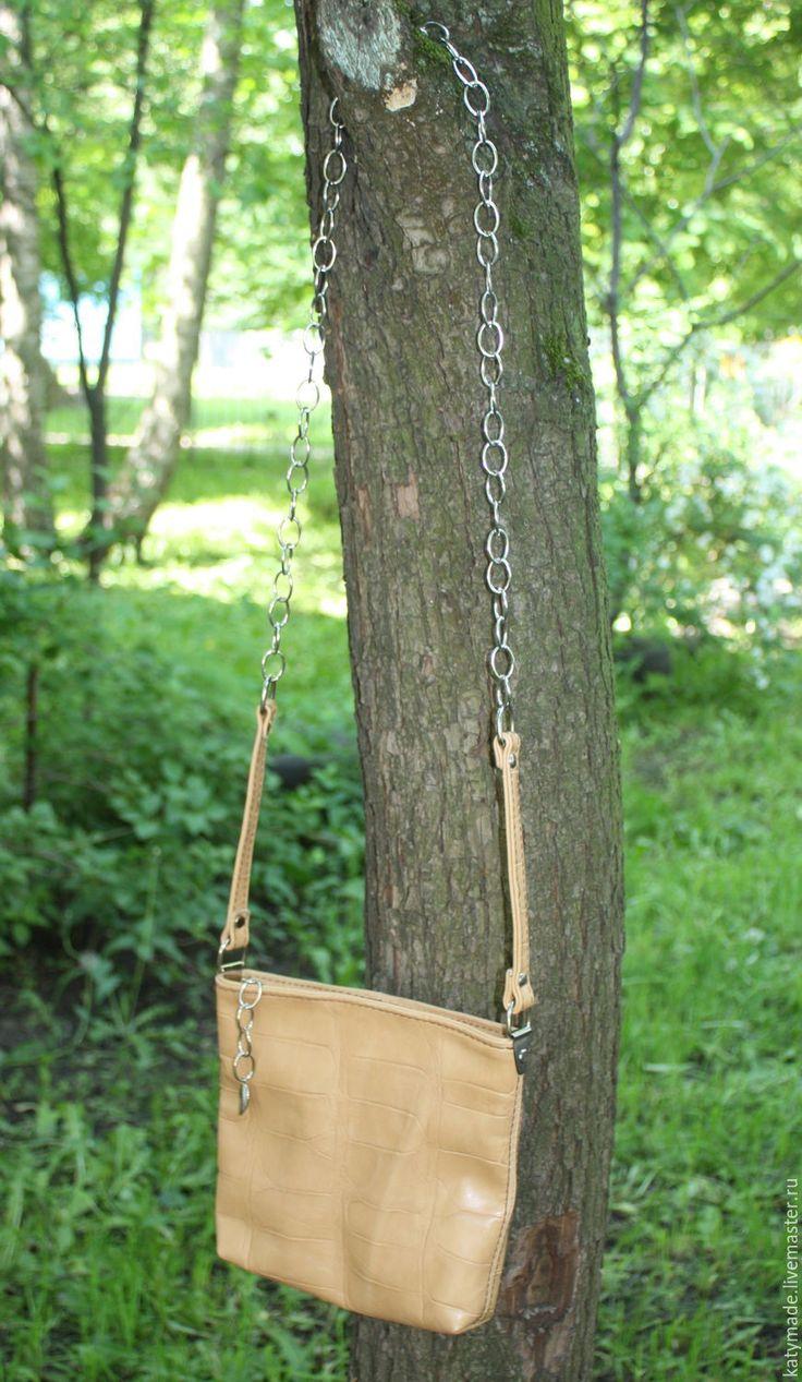 Купить Маленькая сумочка на цепочке - сумочка на цепочке, кроссбоди, кросс-боди, маленькая сумочка
