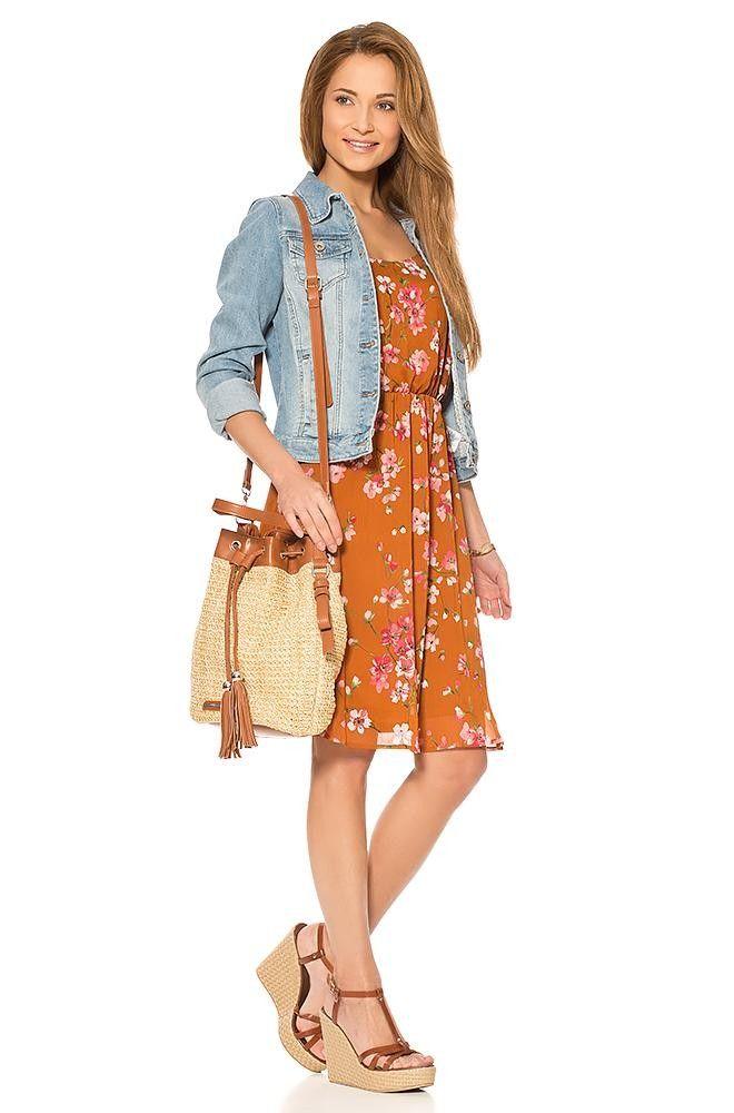 ORSAY ✽ KLEIDER ✽ Kleid mit Blumen-Print