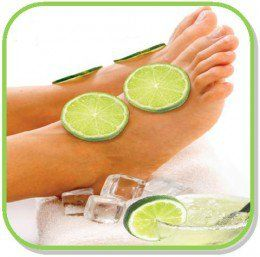 Pamper your Nails ready for Summer with our 1hr Milky Almond Mani & Citrus Lime Pedi Pamper Package .....