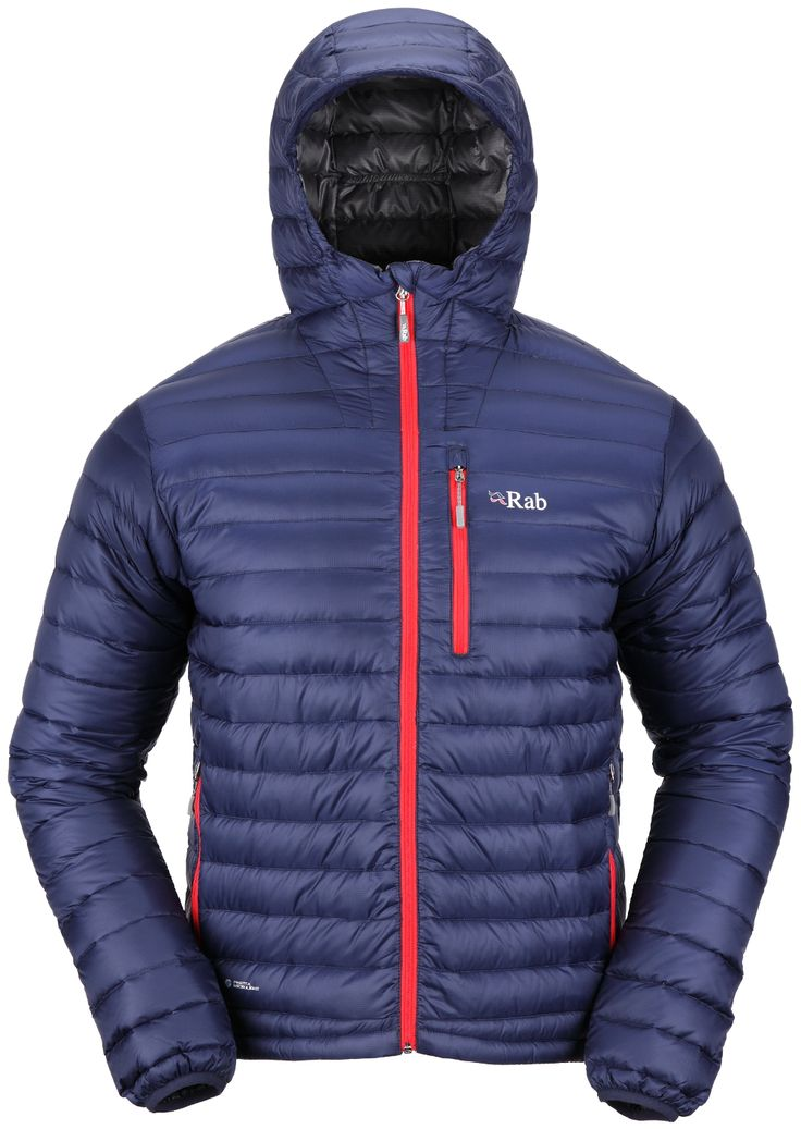 Rab Microlight Alpine Jacket - Men's - Down Insulated Jackets - Men's Jackets - Men's :: CampSaver.com
