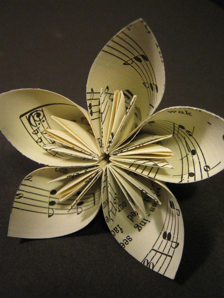 1000 ideas about sheet music flowers on pinterest paper