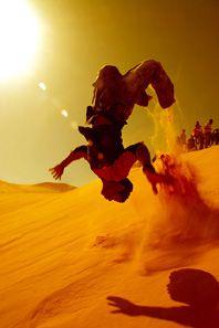 Backflip SAHARA DESERT