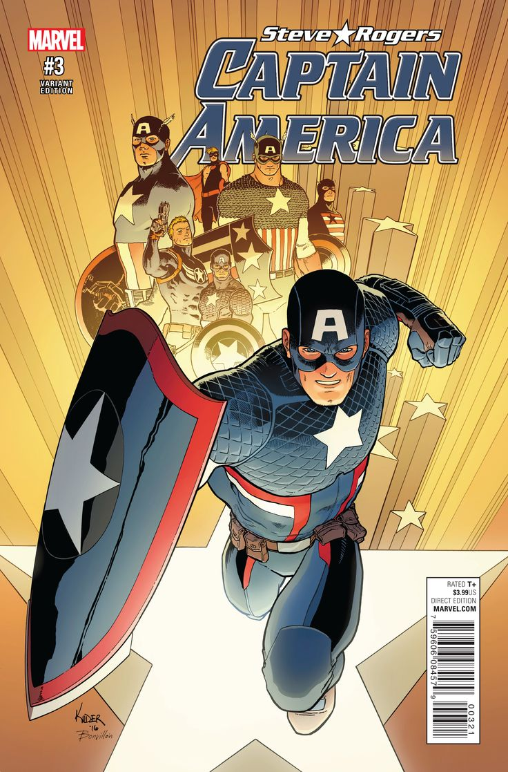 Captain America: Steve Rogers 3 Page 1
