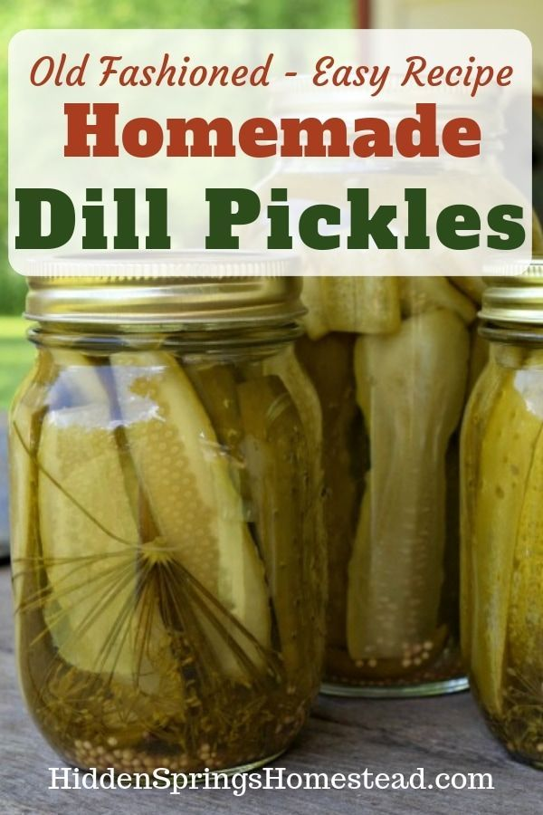 #fashioned #homemade #canning #pickles #simple #re…