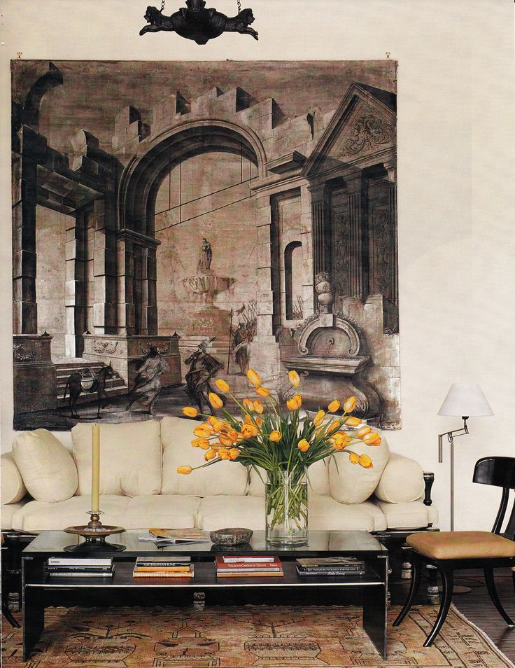 85 best trompe l 39 oeil murals wallpapers images on for Mural room white house