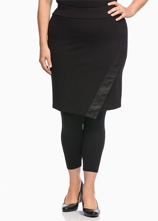CLEARANCE - Plus Size Women's Clothing | Taking Shape - DESIRE SKIRT