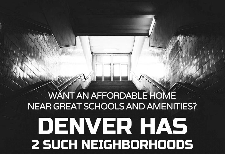 """Redfin said it analyzed 170 neighborhoods in 20 cities and found neighborhoods that met its criteria for having high enough scores from Walk Score, GreatSchools, and was deemed """"affordable."""" See them here: http://bit.ly/205mUaA  #RealEstate #Denver #AffordableHomes"""