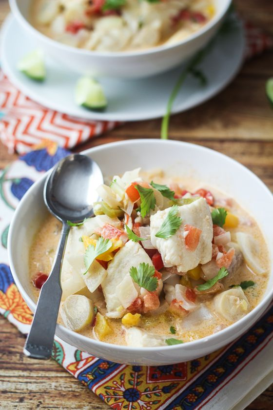Brazilian Fish Soup (Moqueca) - quick and easy, but sooo delicious.