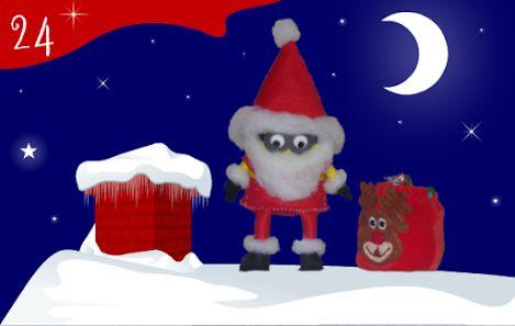 Jour 24 : notre Père Noël minion a rempli sa hotte. Il est prêt à distribuer de nombreux cadeaux qui réjouiront petits et grands. - CREAKIT Loisirs Créatifs