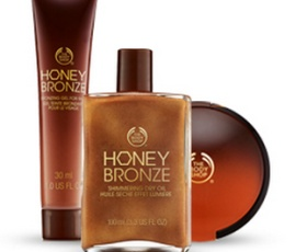 Get Your Glow on the Go with The Body Shop's Honey Bronze Makeup Range