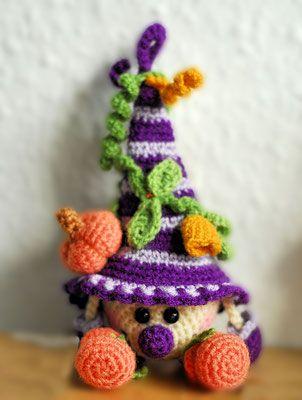Wichtel Herbst   crochet dolls   Pinterest   Wichtel, Häkeln und ...