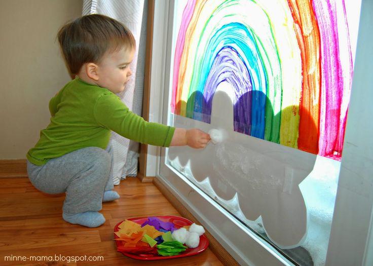 Minne-Mama: Contact Paper Rainbow