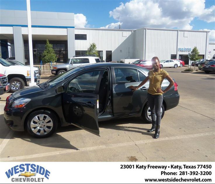 #HappyAnniversary to Patrica Lyons on your 2009 #Toyota #Yaris from Vaughn Stanley at Westside Chevrolet!