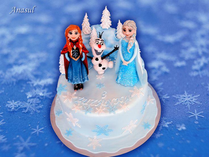Elsa a Anna s Olafom