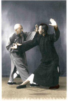 Scholar, author, Tai Chi master and Yang Cheng Fu's chief disciple, Chen Weiming (1881-1958) teaches self defense applications to his disciple, Leung King Yu. #TaiChi #Taijiquan Visit http://taichicircle.vidlify.net