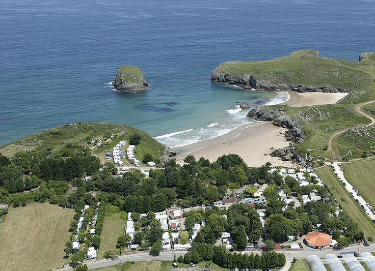 Camping Playa De Troenzo Llanes Asturias Paisajes Piscinas Playa