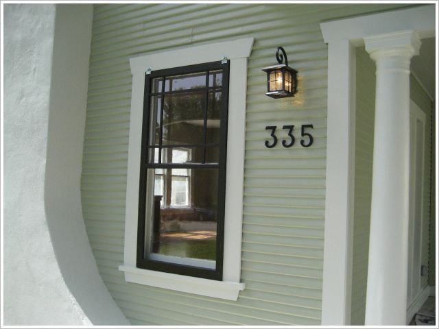 House Numbers Exterior Design Porch Amp Entry Pinterest