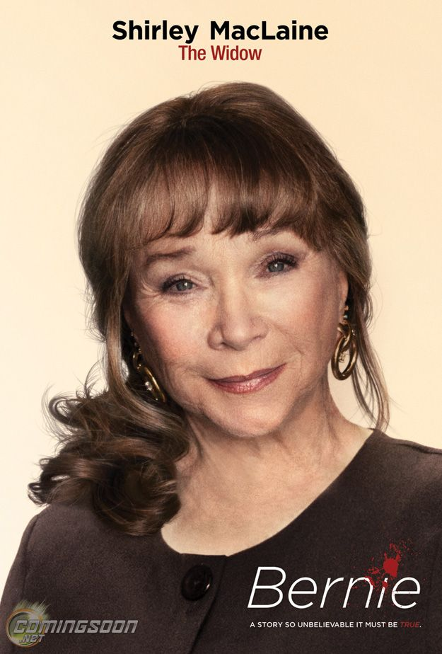 Shirley MacLaine plays Marjorie Nugent in Bernie