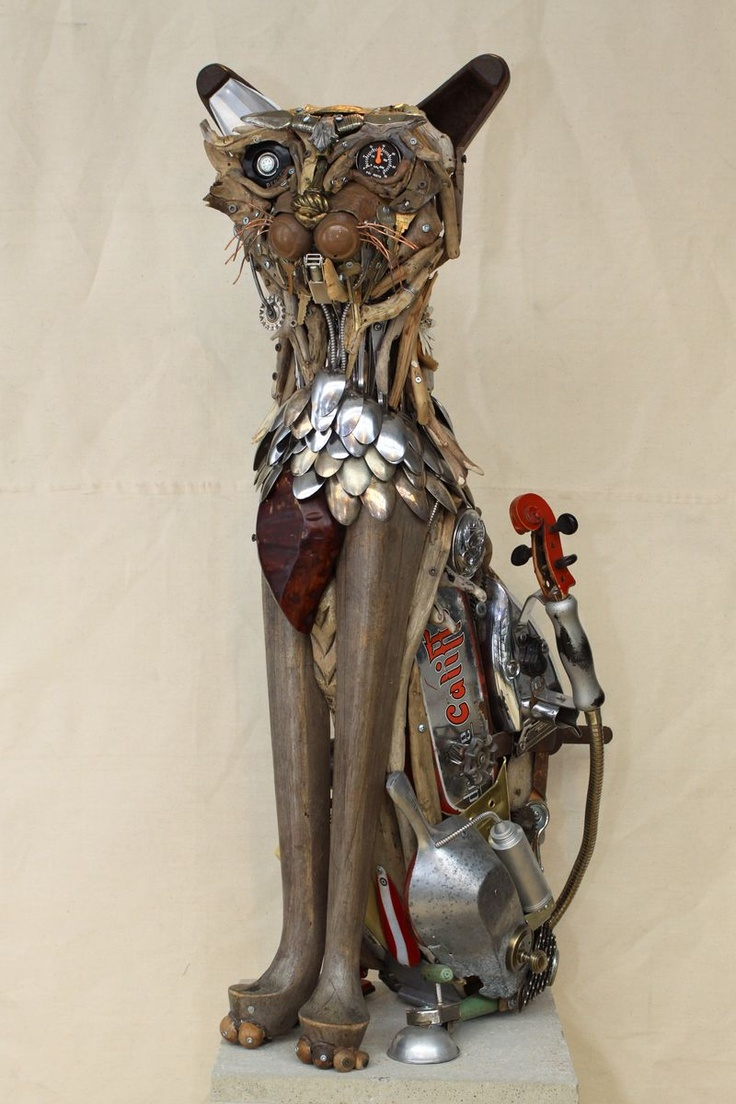 Best Upcycled Animal Art Images On Pinterest Sculptures - Theres an entire museum dedicated to rubbish art and its a sight to behold