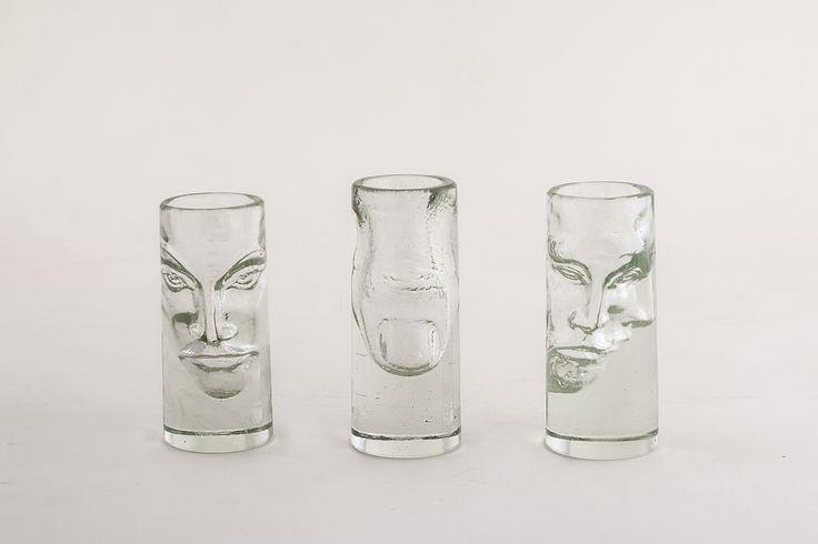 Shot glasses by Péter Borkovics http://www.magma.hu/muveszek.php?id=12