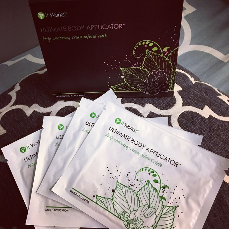 Ultimate body applicators will tighten, tone, and firm your muscles while taking the appearance of cellulite away!