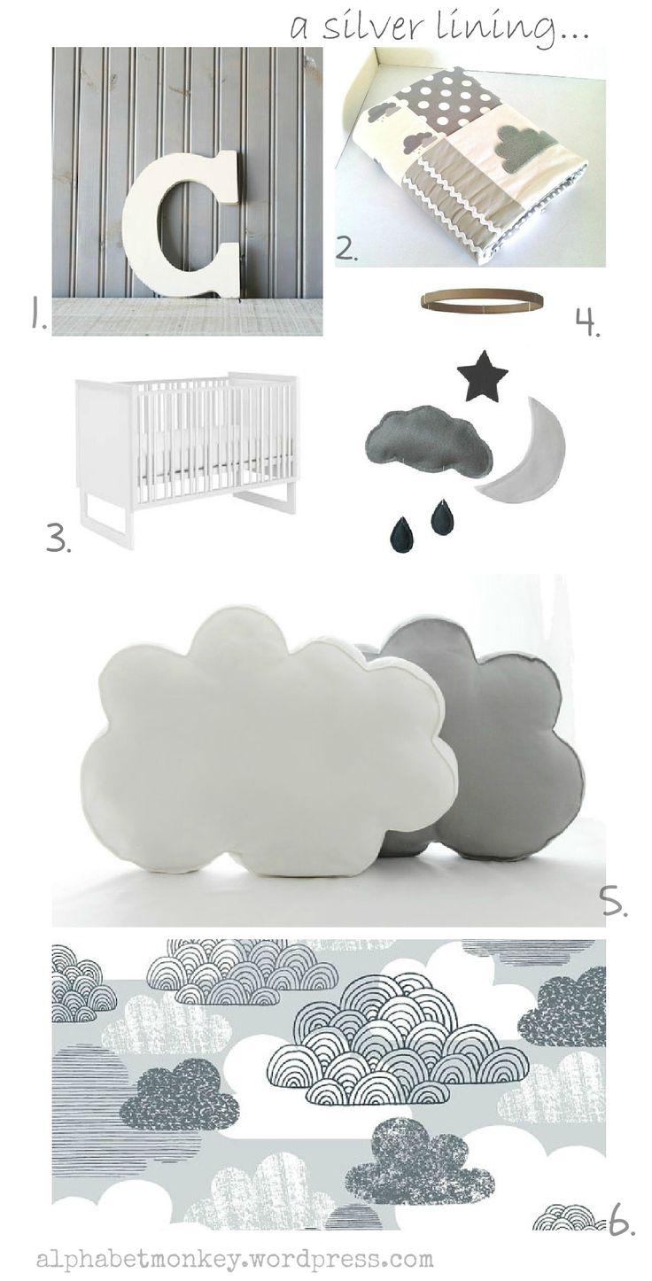 Cloud nursery board
