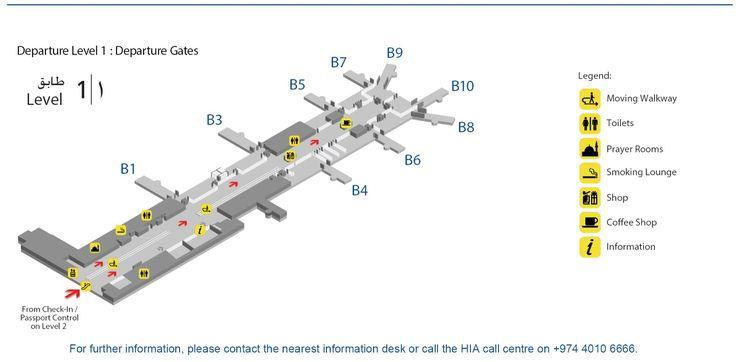 Maps | Hamad International Airport