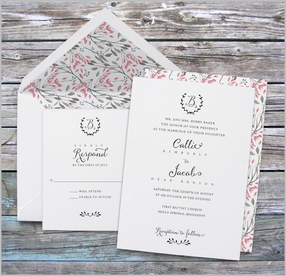 Formal Invitation Template – 43+ Free PSD, Vector EPS, AI, Format Download!   Free & Premium Templates