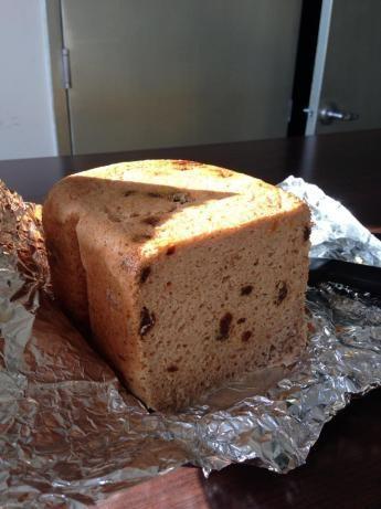 Bread Machine Gluten Free Cinnamon, Fruit And Raisin Bread Recipe