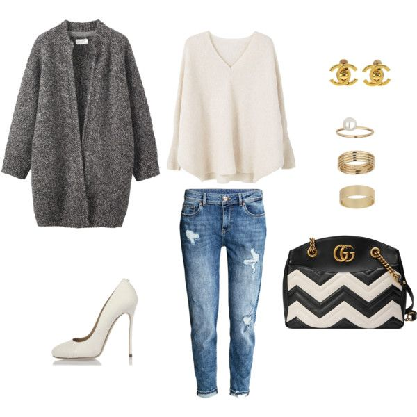 Untitled #688 by tati-oliveira on Polyvore featuring mode, MANGO, Toast, Dsquared2, Gucci, Miss Selfridge and Chanel