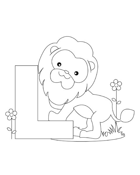 Your Child Will Love Learning Letters With These Fun And Free Animal Alphabet Coloring Pages