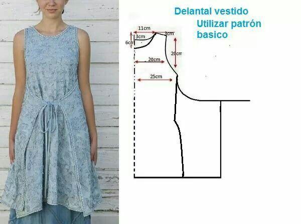 Vestido-delantal