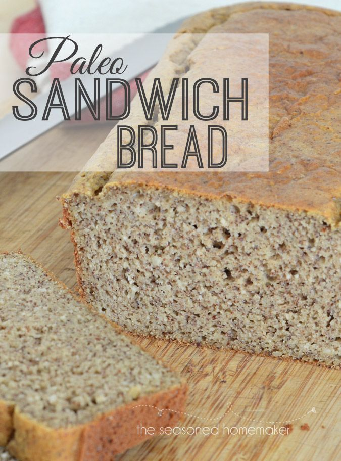 For five years I've been looking for a great bread recipe that is both gluten-free and paleo. I have found it with this Paleo Sandwich Bread - Super Easy and delicious. The Seasoned Homemaker.