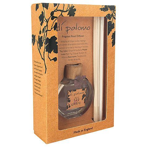 Buy Di Palomo Wild Fig and Grape Inspired Fragrant Reeds, 100ml Online at johnlewis.com