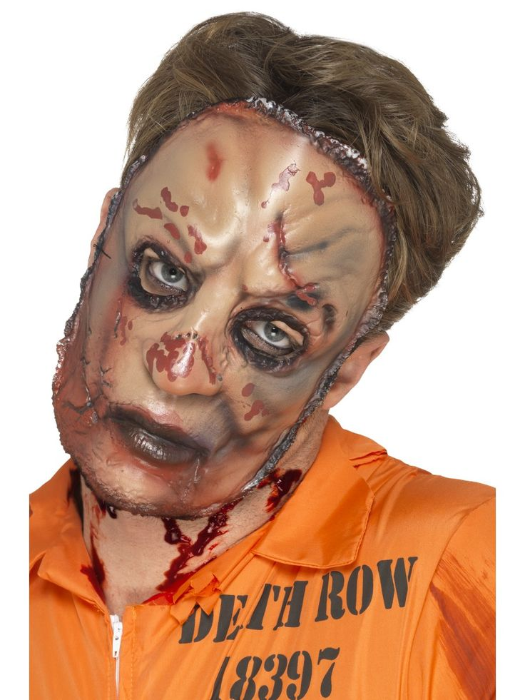 Zombien maski. Virittäydy Zombie-tunnelmaan tällä karmivalla koko kasvoja peittävällä maskilla.