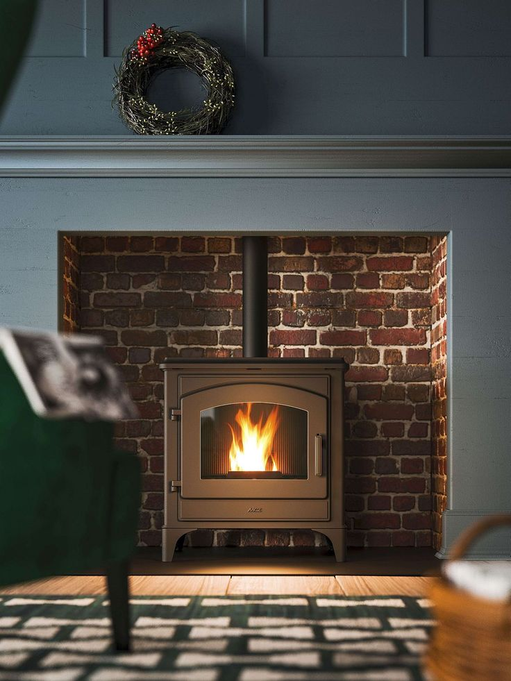 Efficient pellet stove made entirely from cast iron Eco Friendly Range of Pellet Stoves for the Modern Home