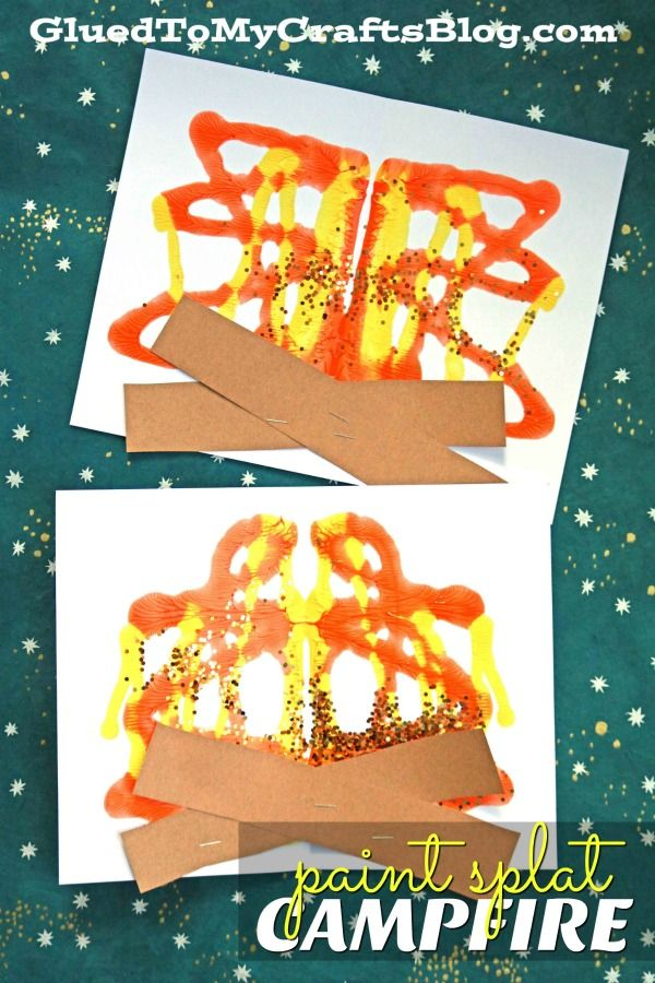 Paint Splat Campfire