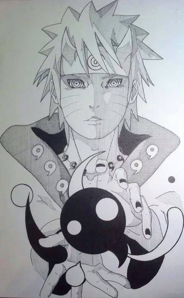 Naruto as the Sage of the Six Paths