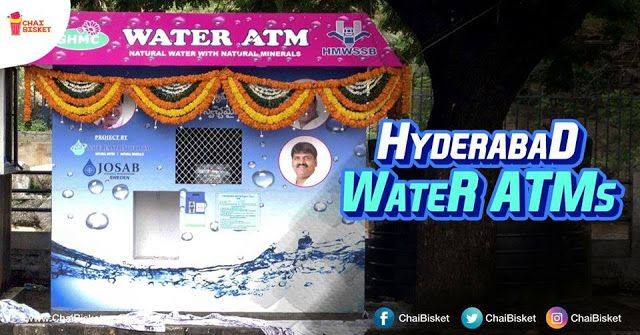 Hyderabad Comes Up With Water ATMs To Provide Clean Drinking Water At Affordable Prices http://ift.tt/2xTigR6