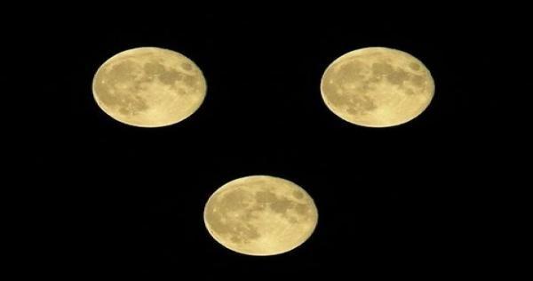 أقمار متعددة تسطع في سماء مدينة جدة السعودية فجر الغد ماذا يحدث Celestial Bodies Celestial Moon