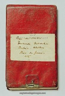 Charles Darwin's notebooks