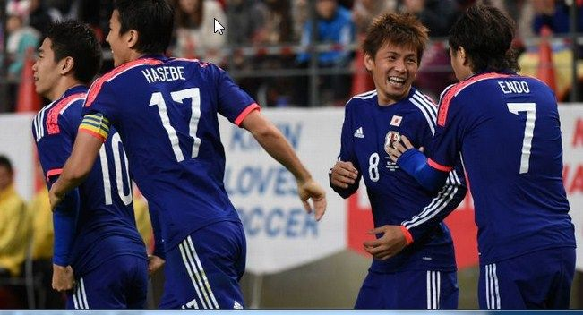 Jepang vs Honduras