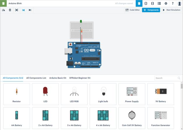 Programma di simulazione Arduino Autodesk 123D Circuits - PROGETTI ARDUINO