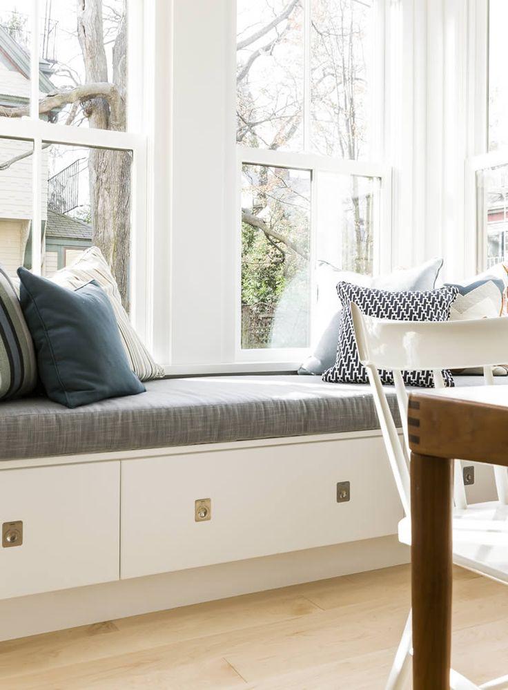 Under Window Seating best 25+ bench under windows ideas on pinterest | bay window
