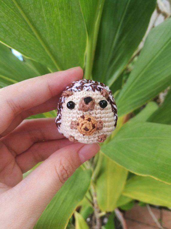 Hedgehog Amigurumi, Cute Crochet Hedgehog