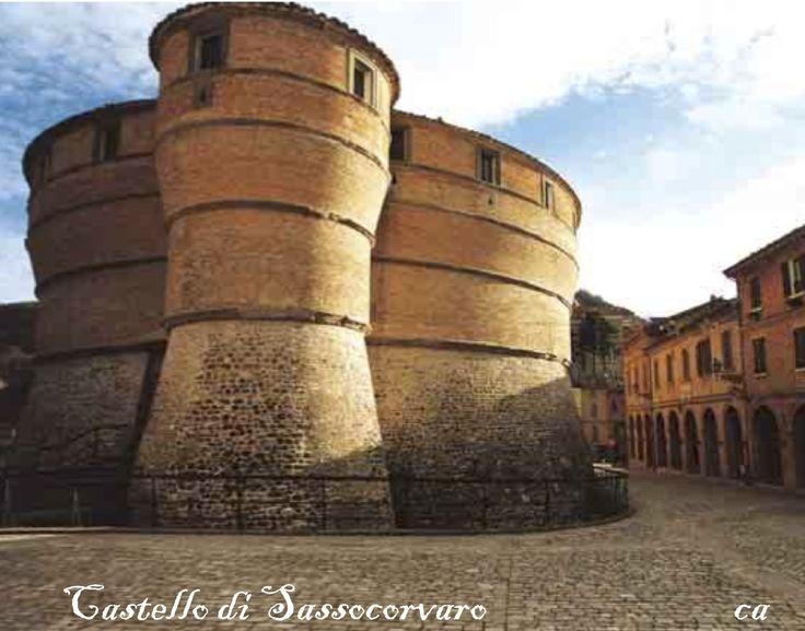 Rocca di Sassocorvaro,Pesaro Urbino.Apertura al pubblico: si  con barriere architettoniche presenti  Open- no handicap accessible-Ticket  Da visitare:Sassocorvaro Fortress,Lago di Mercatale