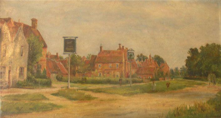 Main Road Long Bennington about 1900