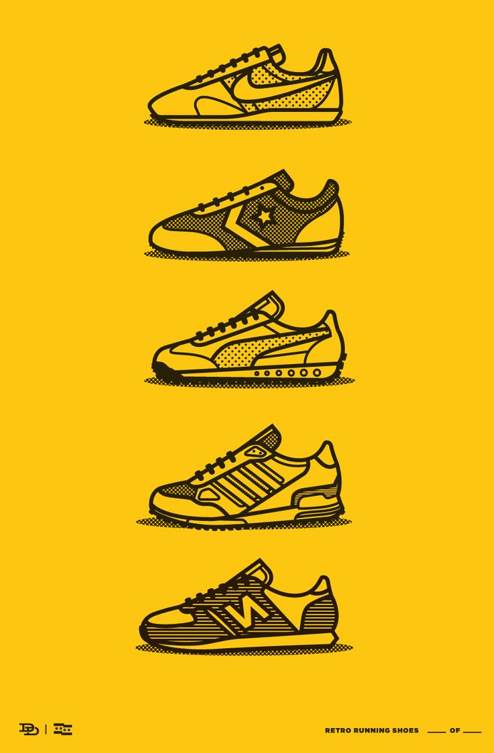Icons, Symbols & Pictograms / Shoes by www.deeduncan.com