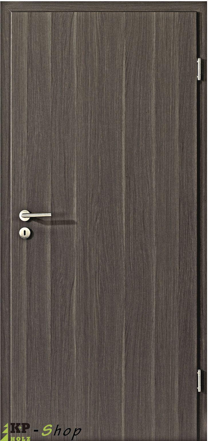CPL Zimmertür mit Zarge in Eiche anthrazit günstig online bestellen. Jetzt Ihre Innentüren mit Zarge konfigurieren.
